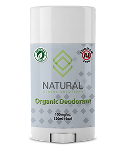 Natural Stress Solutions CBD Deodorant