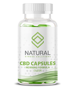 Natural Stress Solutions CBD Capsules Night (Sleep)