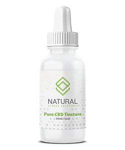 Natural Stress Solutions Pure CBD Tincture